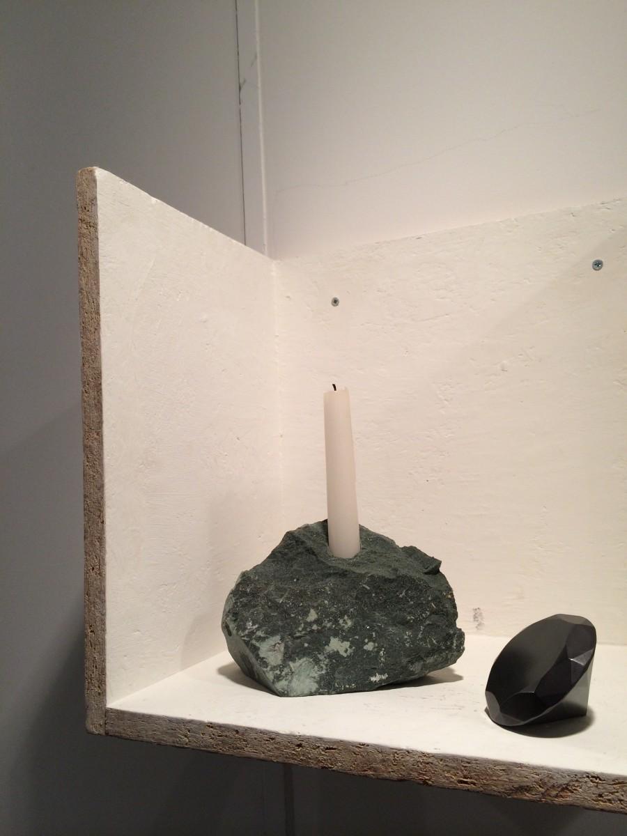 candelabra rock and diamond