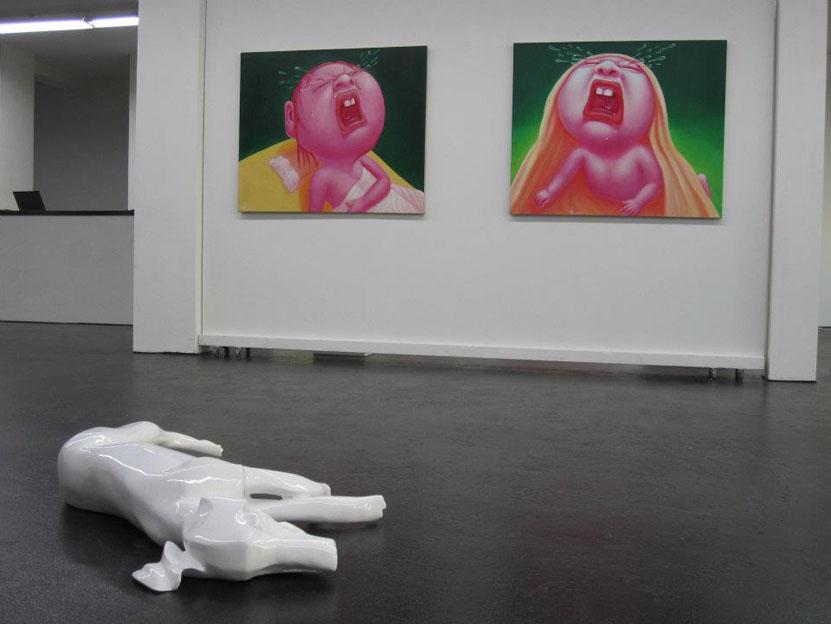 Dog by Servaas Roelandse, paintings Kerseboom Gallery