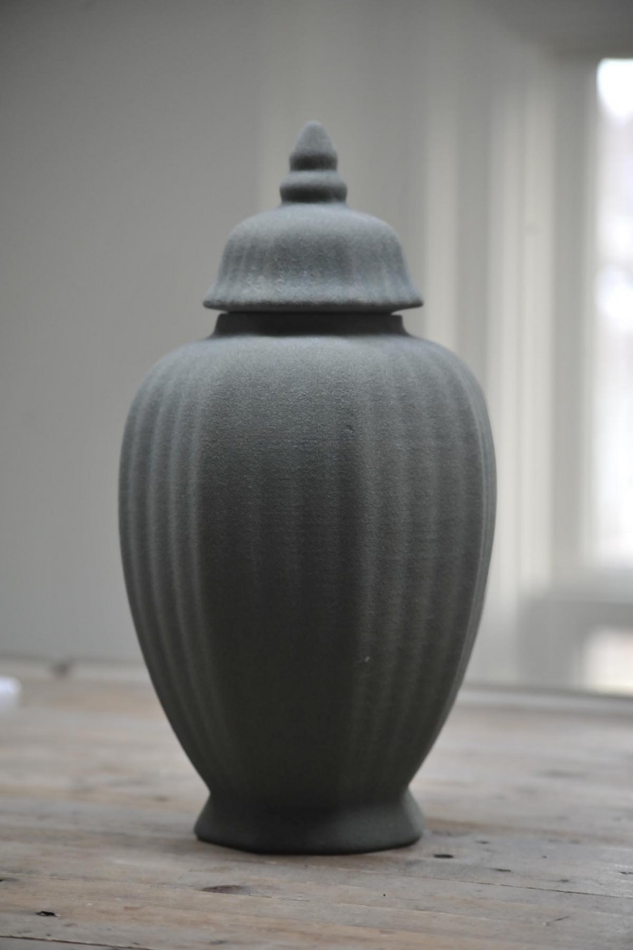 Presented by Judy Straten Art Design, Rolf Bruggink, sand 3D printed vase 1