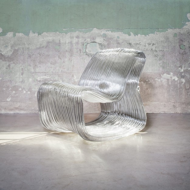 not only hollow chair by dirk vander kooij, credit photo Loek Blonk, commissioned gallery Chamber