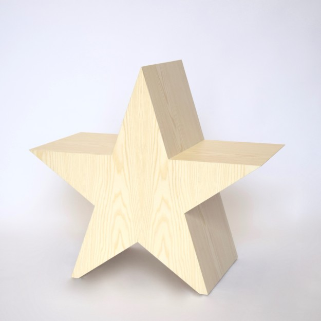 A star is born Chair by Mischa van der Wekke, Ashwood