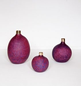 Pomme vases by Handmade Industrials