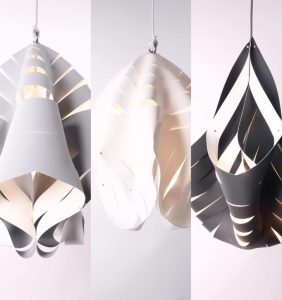 Synth Etic Chic lamps by Ratna Ho & Studio Mulder