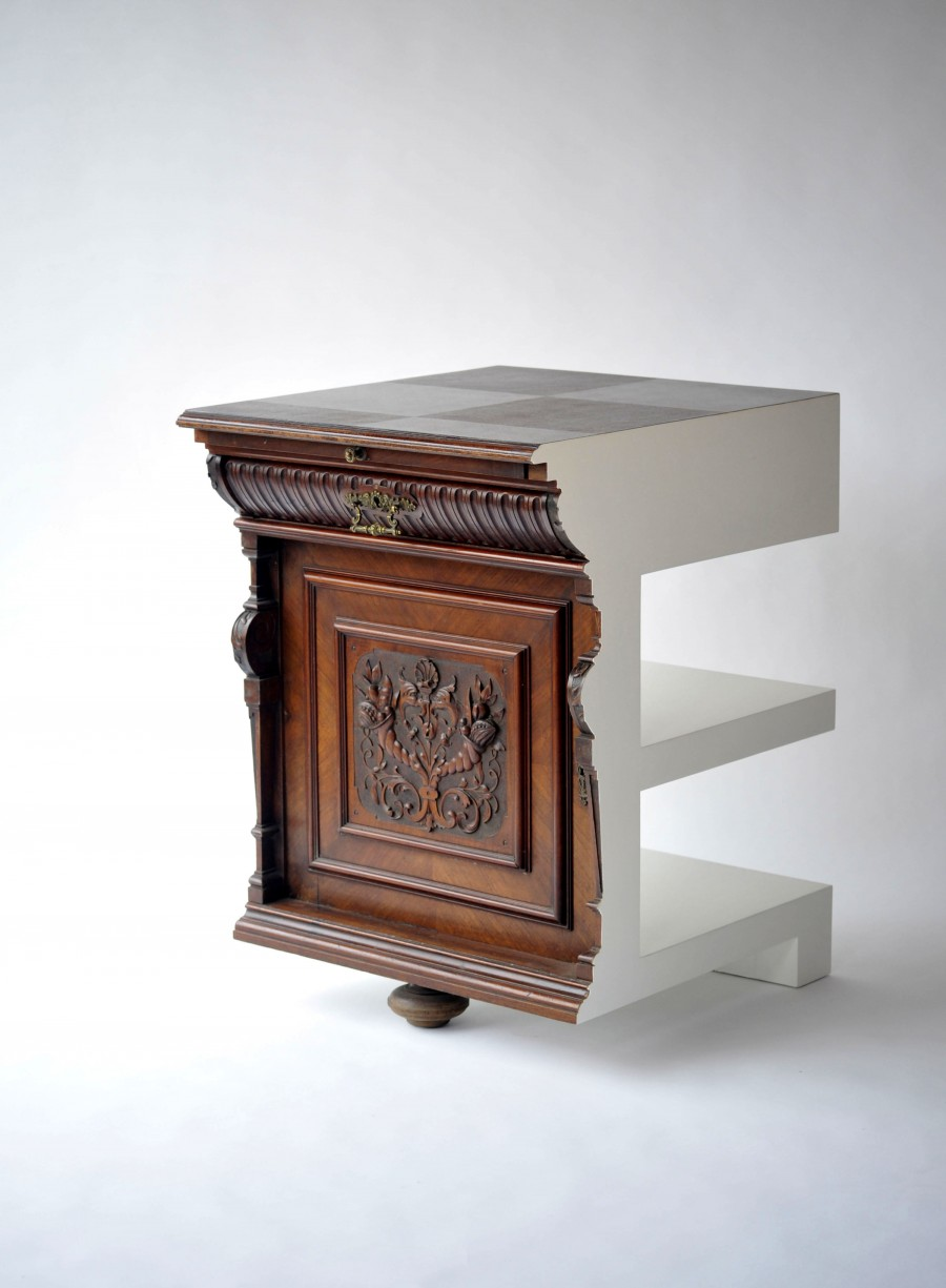 Studio Rolf.fr, Cutted Cabinet, Courtesy Galerie Judy Straten