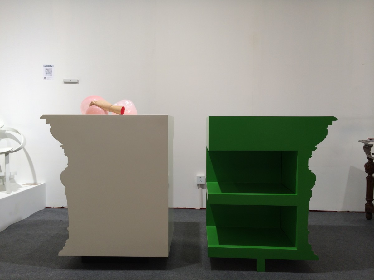Cutted Cabinet by Studio Rolf.fr