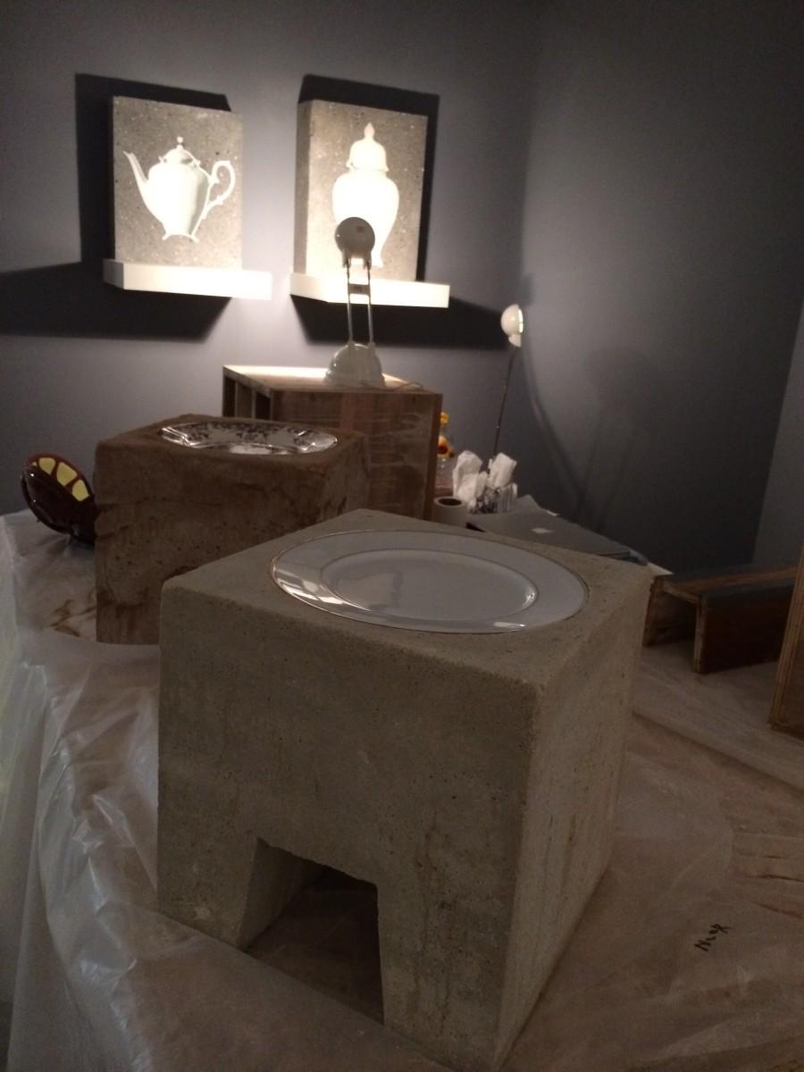 Concrete stool by Studio Rolf.fr