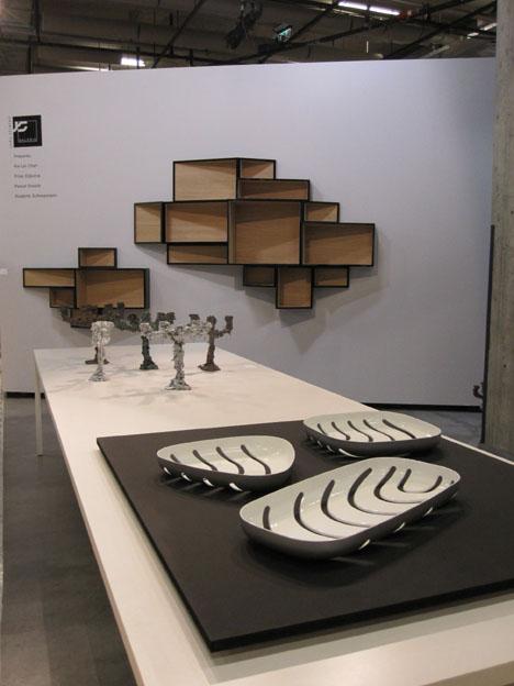 Molusc by Friso Dijkstra, Kaarsrecht by Pascal Smelik, SheLLf by Ka-Lai Chan