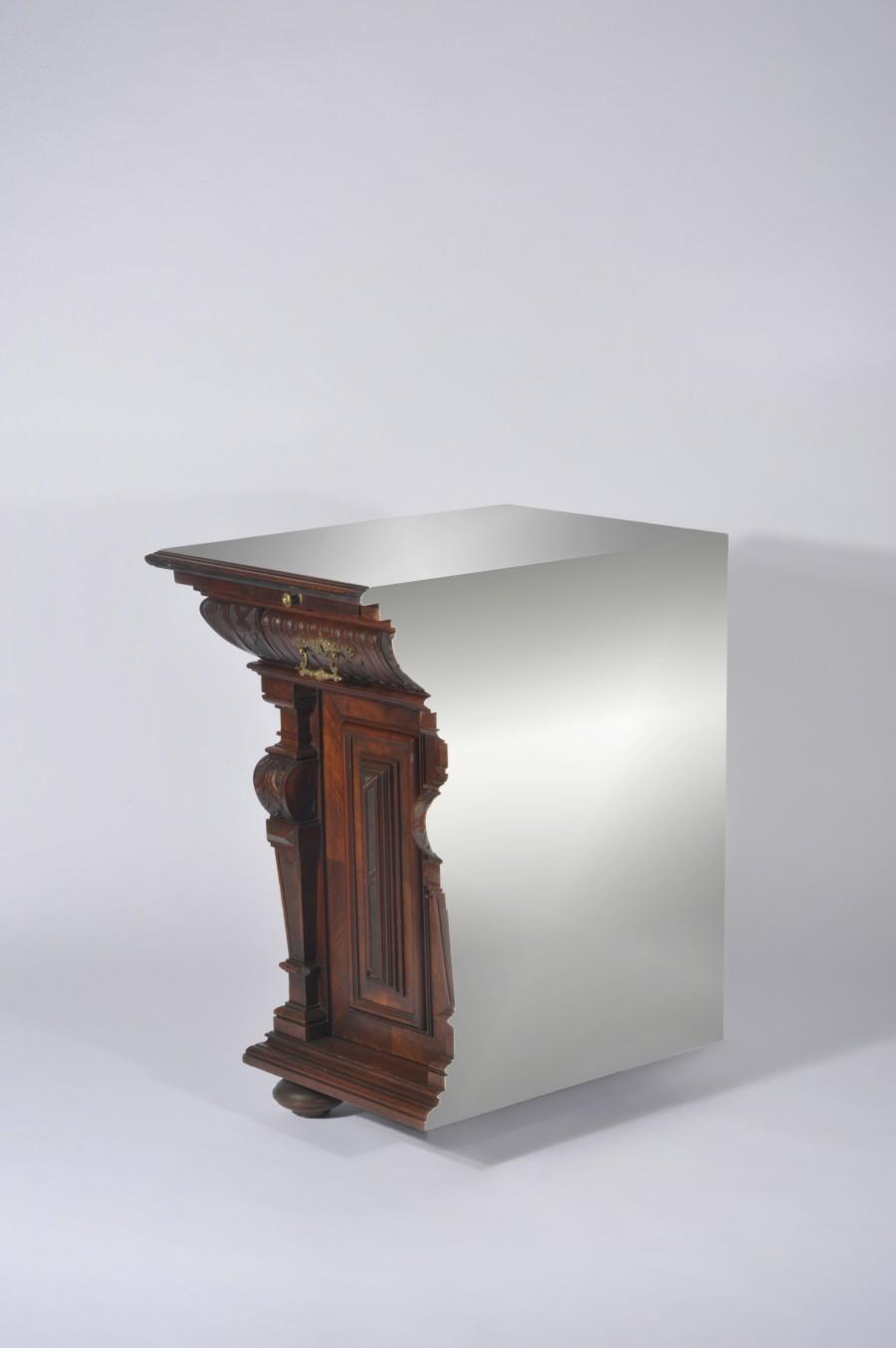 Presented by Judy Straten Art Design, Rolf Bruggink, Cutted Cabinet